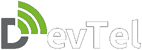DevTel Company Logo (Transparent)